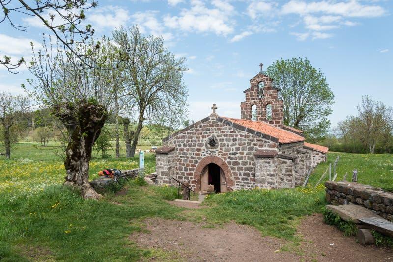 Capilla del santo-Roch en Francia imagen de archivo