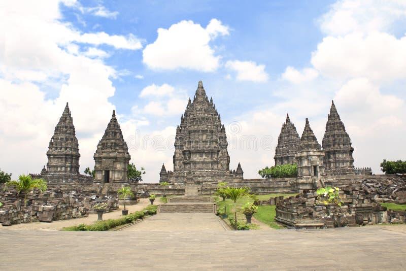 Capilla del templo hindú de Prambanan, Yogyakarta, Java, Indonesia fotos de archivo