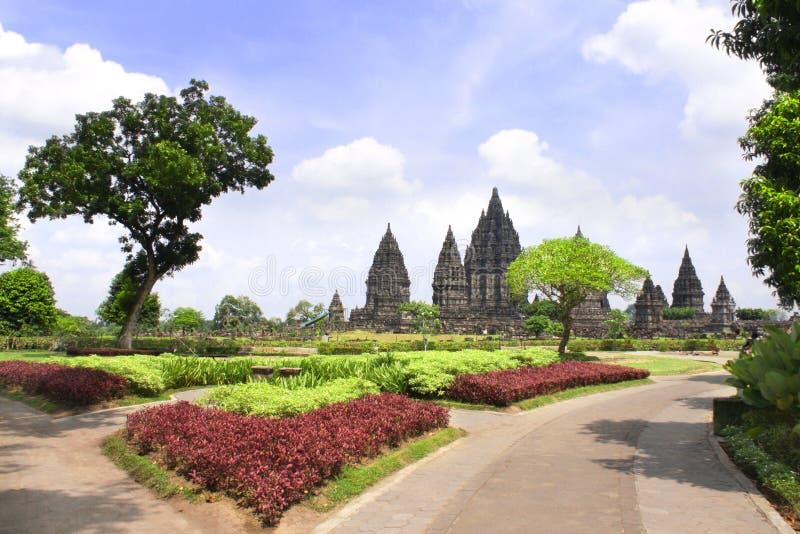 Capilla del templo hindú de Prambanan, Yogyakarta, Java, Indonesia foto de archivo libre de regalías