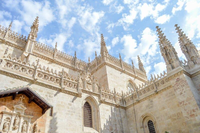 Capilla Granada real foto de archivo libre de regalías