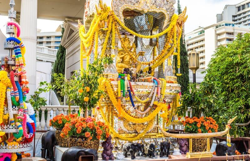 Capilla hindú de oro imagen de archivo libre de regalías