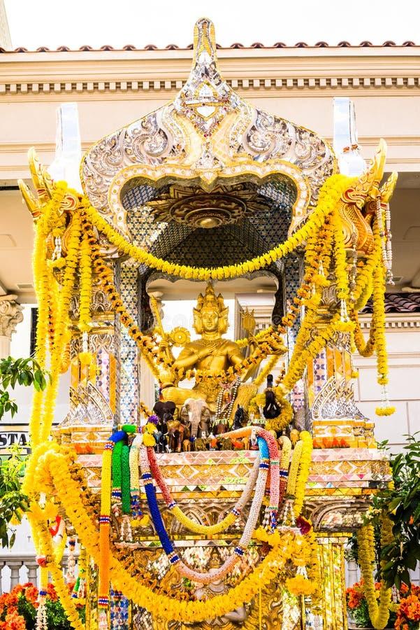 Capilla hindú de oro fotos de archivo libres de regalías