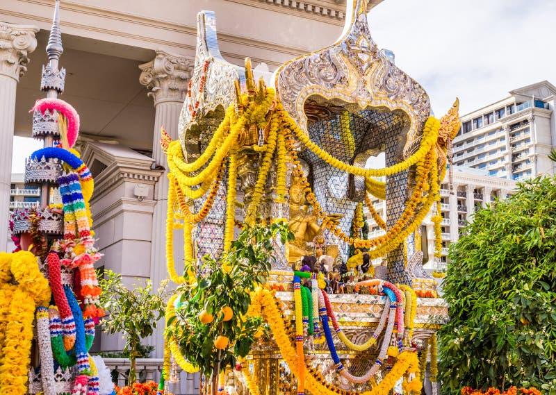 Capilla hindú de oro fotografía de archivo