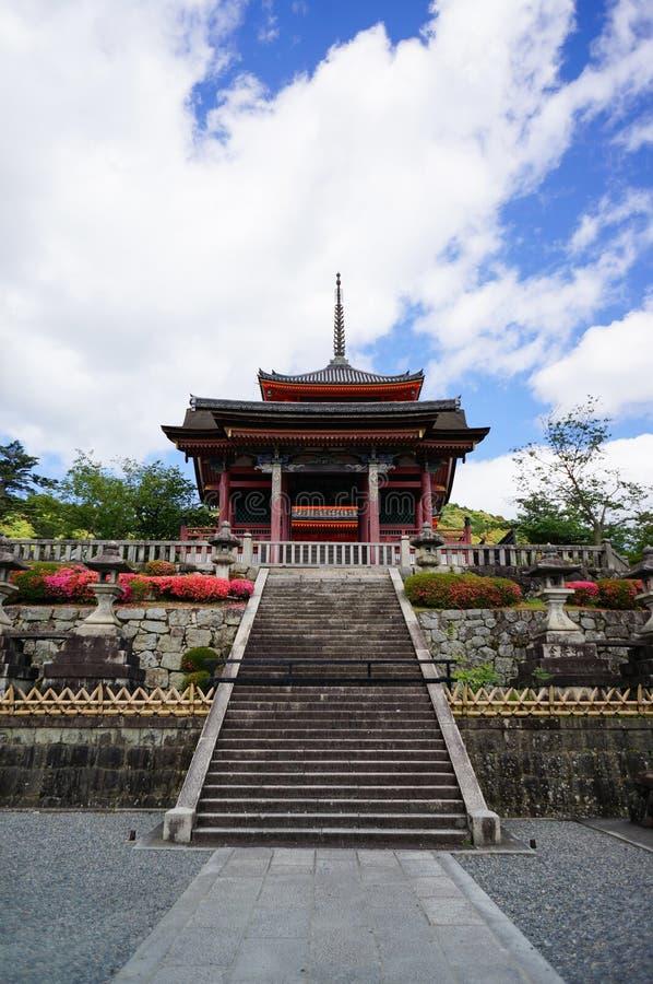 Capilla japonesa en Kyoto imagen de archivo