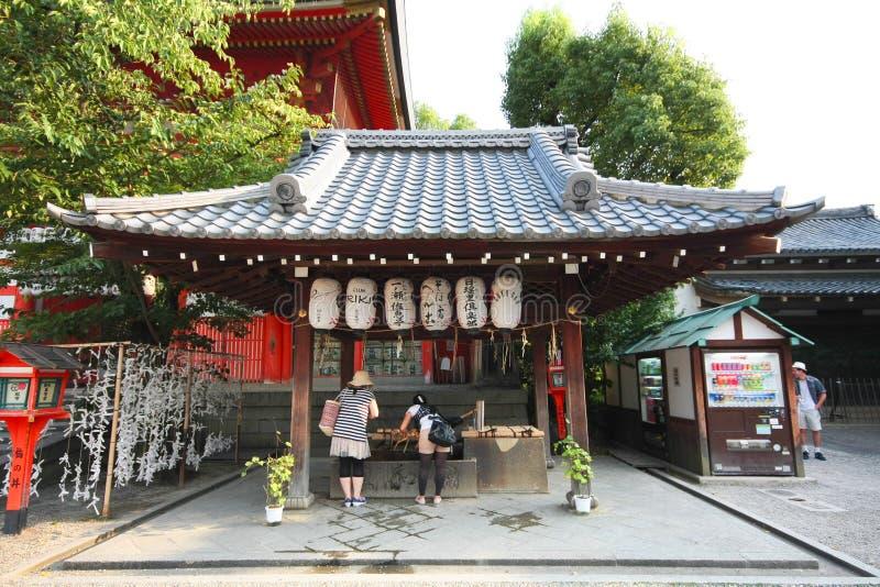 Capilla Kyoto, Japón de Yasaka foto de archivo libre de regalías