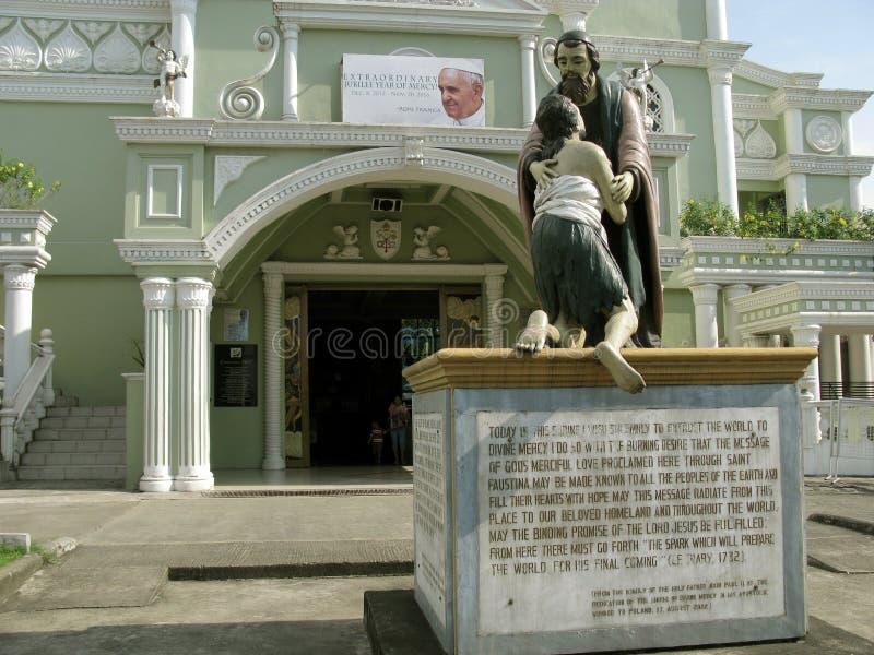 Capilla nacional de la misericordia divina en Marilao, Bulacan fotografía de archivo libre de regalías