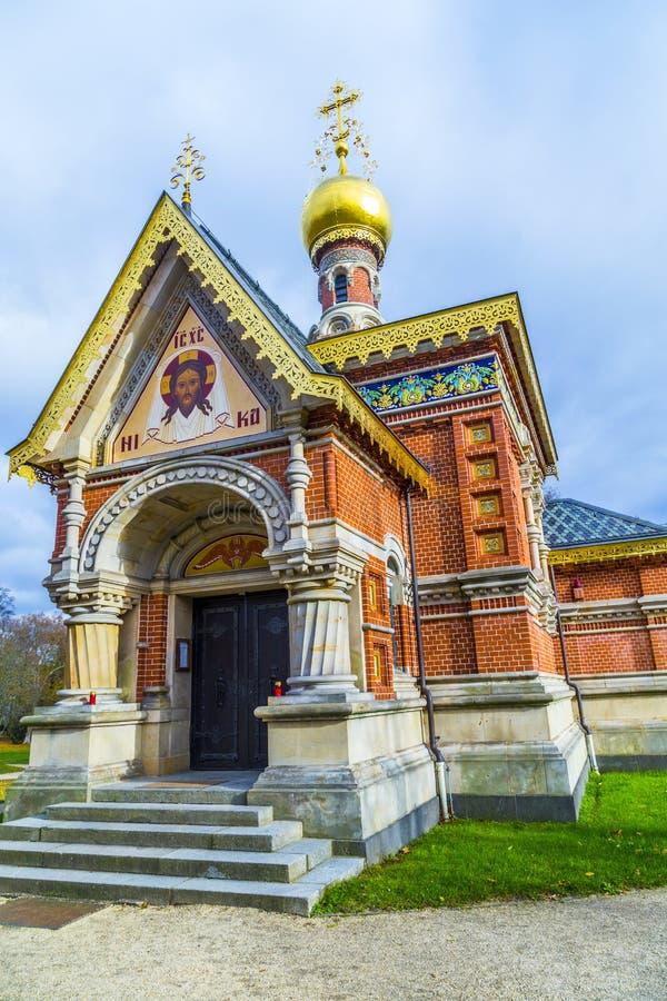 Capilla ortodoxa en el parque foto de archivo libre de regalías