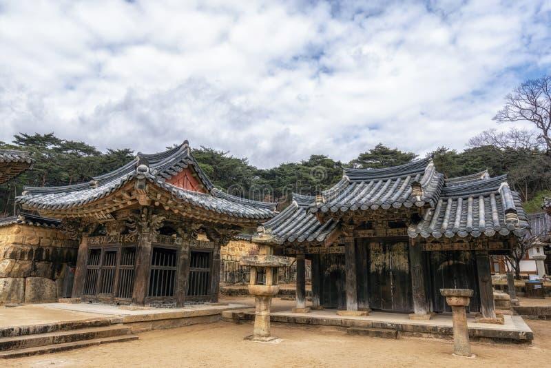 Capillas del templo de Tongdosa imagenes de archivo