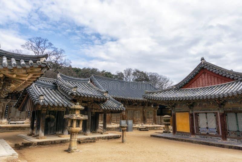 Capillas del templo de Tongdosa fotos de archivo libres de regalías
