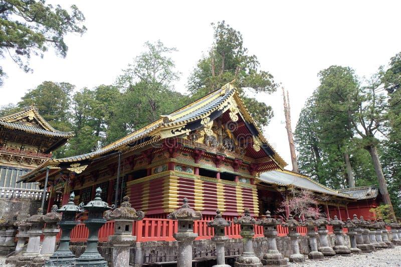 Capillas y templos de Nikko - centro del patrimonio mundial de la UNESCO foto de archivo