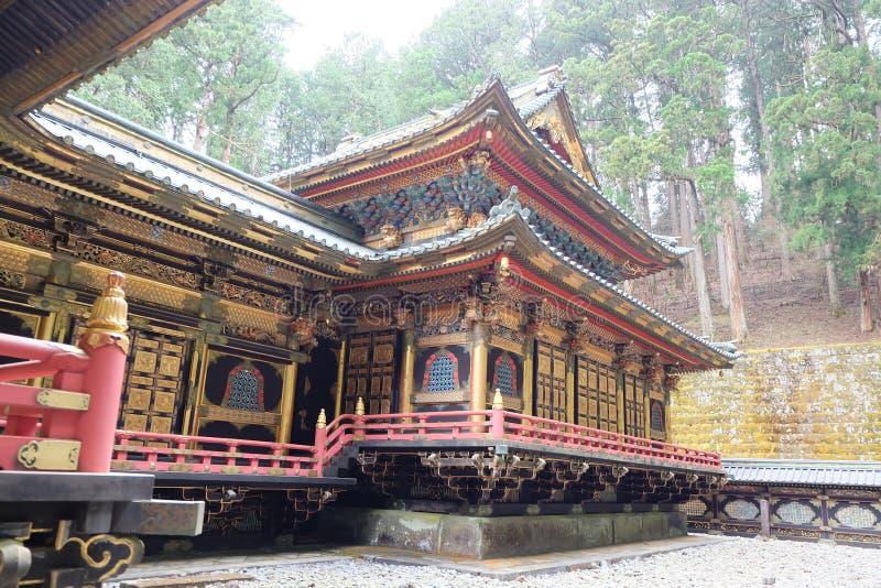 Capillas y templos de Nikko - centro del patrimonio mundial de la UNESCO fotografía de archivo