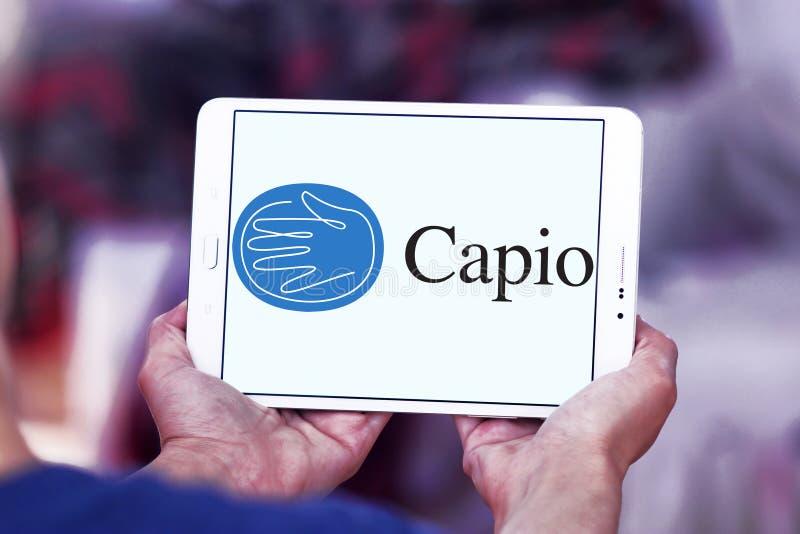 Capio opieki zdrowotnej firmy logo obrazy royalty free
