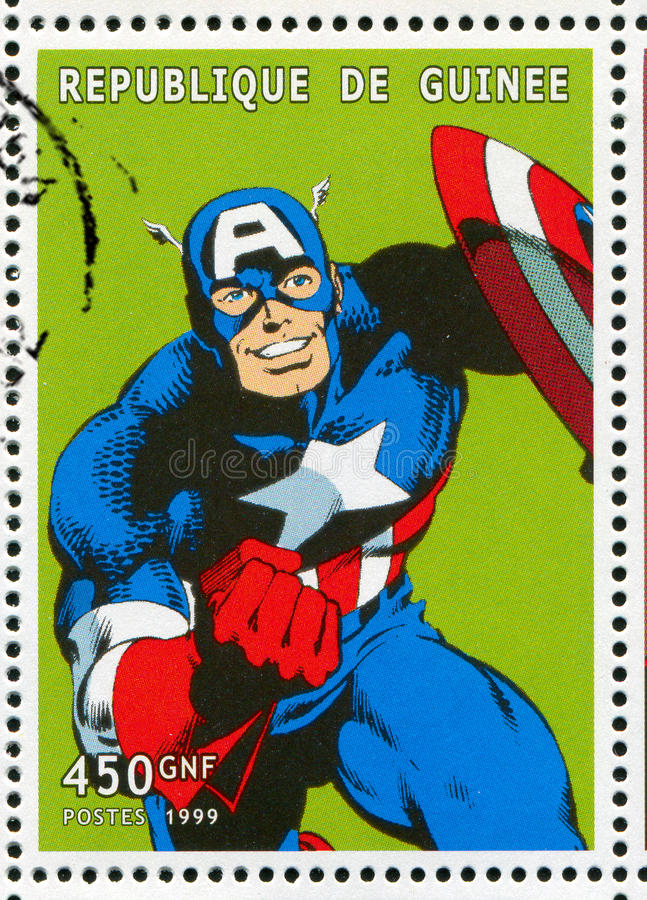 Capitán América imagen de archivo