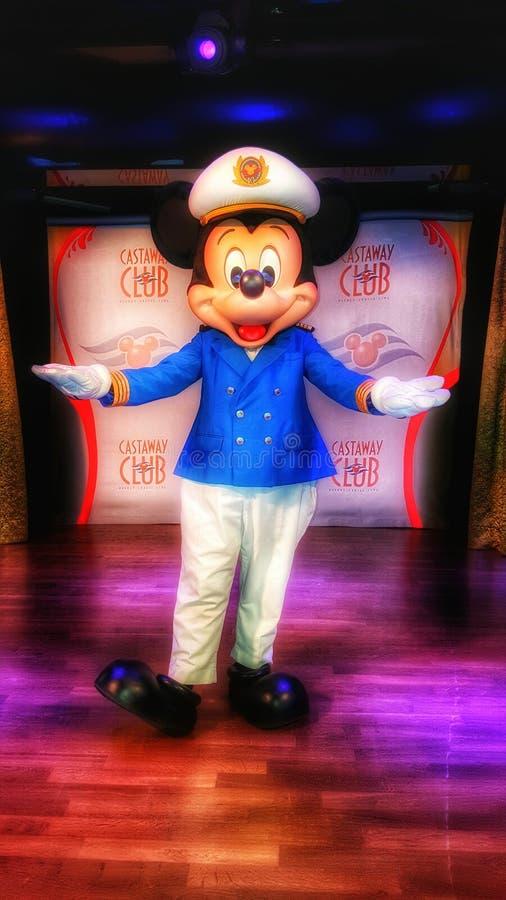 Capitán Mickey Mouse imagen de archivo