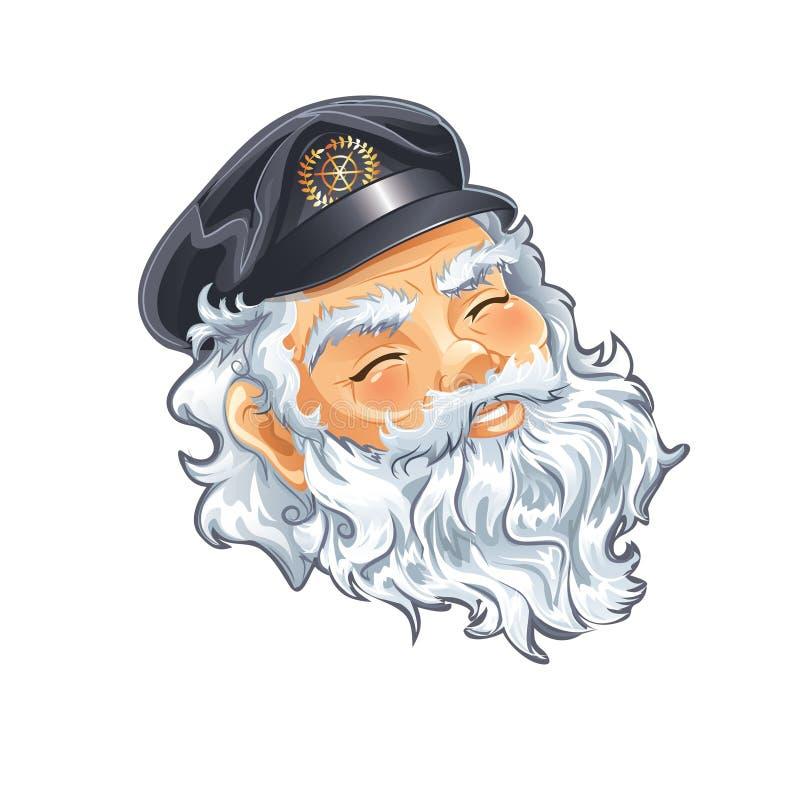 Capitão ilustração royalty free