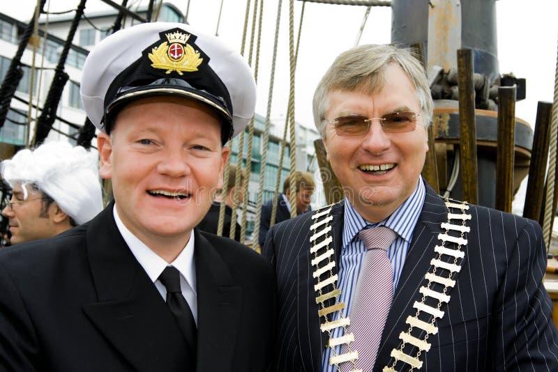 Capitão Brian Sheridan e Paul T.Shelly imagem de stock royalty free