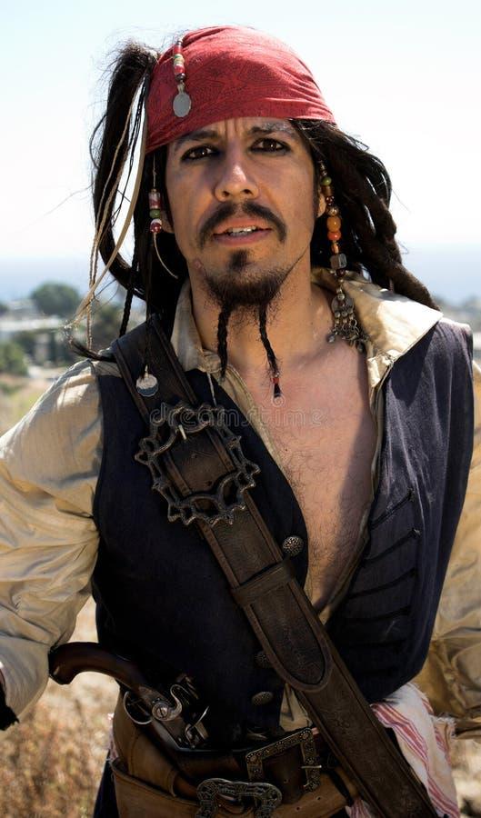Capitão do pirata imagem de stock royalty free