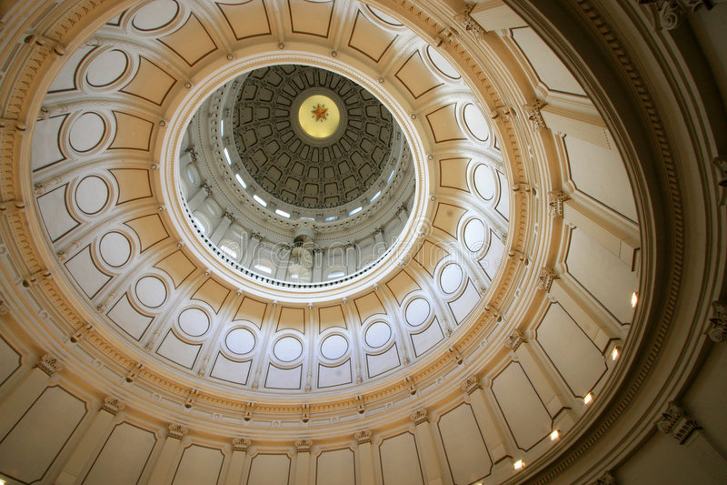 Capitólio de Austin Rotunda imagens de stock royalty free