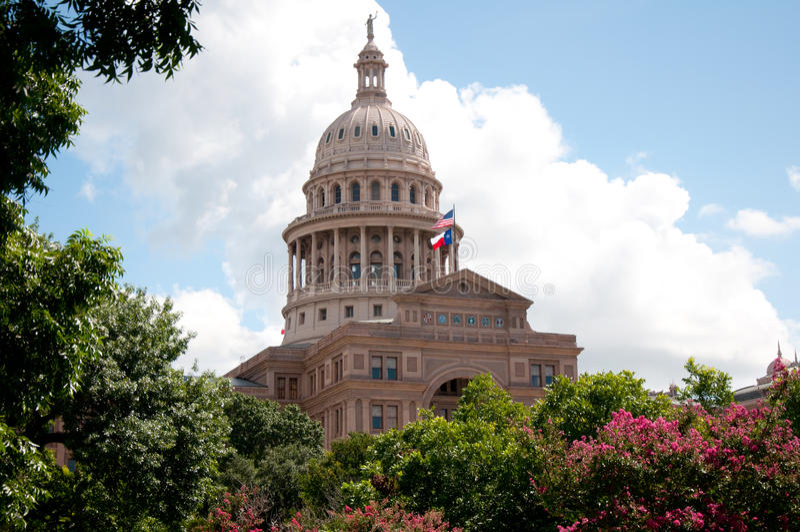 Capitólio de Texas fotografia de stock royalty free