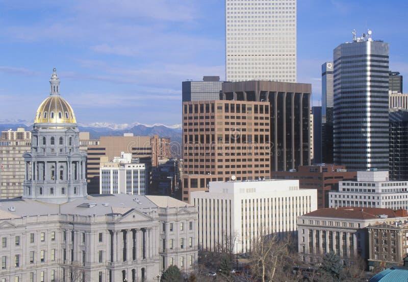 Capitólio do estado de Colorado foto de stock royalty free