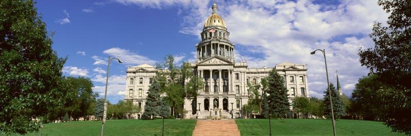 Capitólio do estado de Colorado imagem de stock