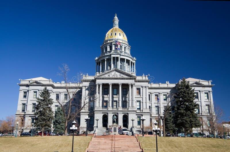 Capitólio do estado de Colorado imagens de stock royalty free