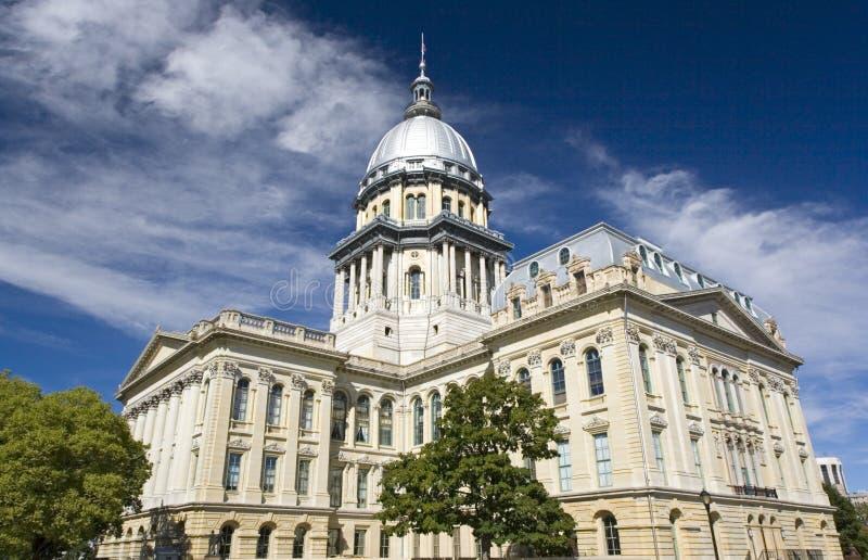 Capitólio do estado de Illinois foto de stock