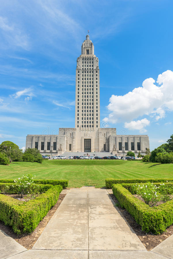 Capitólio do estado de Louisiana fotos de stock royalty free