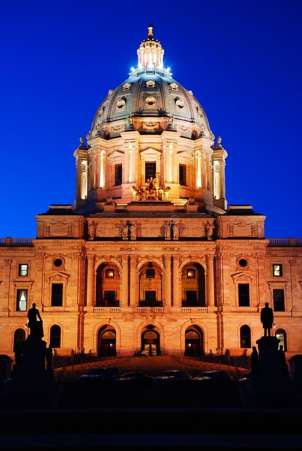 Capitólio do estado de Minnesota, St Paul fotos de stock