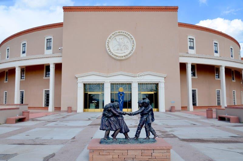 Capitólio do estado de New mexico imagens de stock royalty free