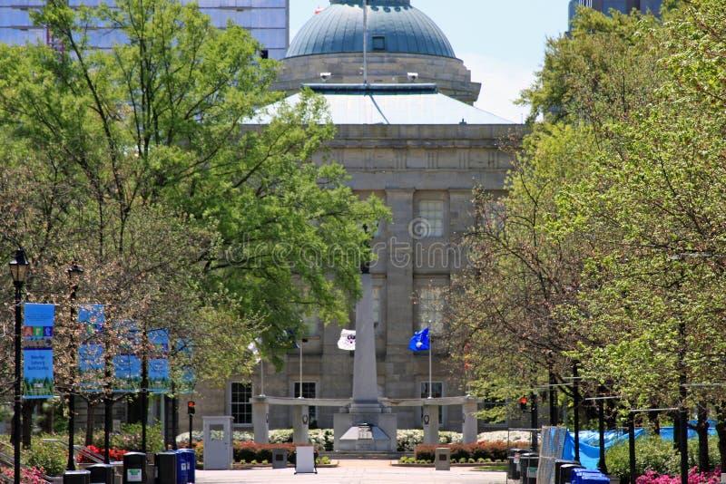 Capitólio do estado de North Carolina imagem de stock royalty free