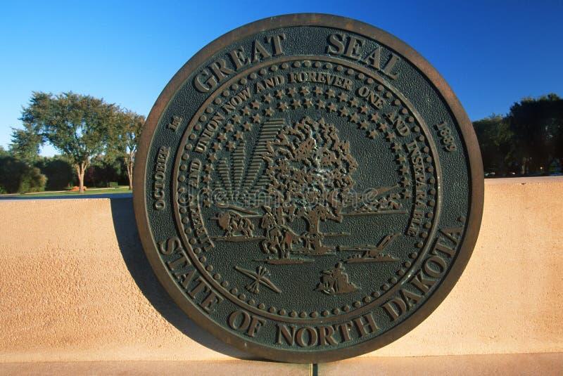 Capitólio do estado de North Dakota, Bismarck imagem de stock royalty free