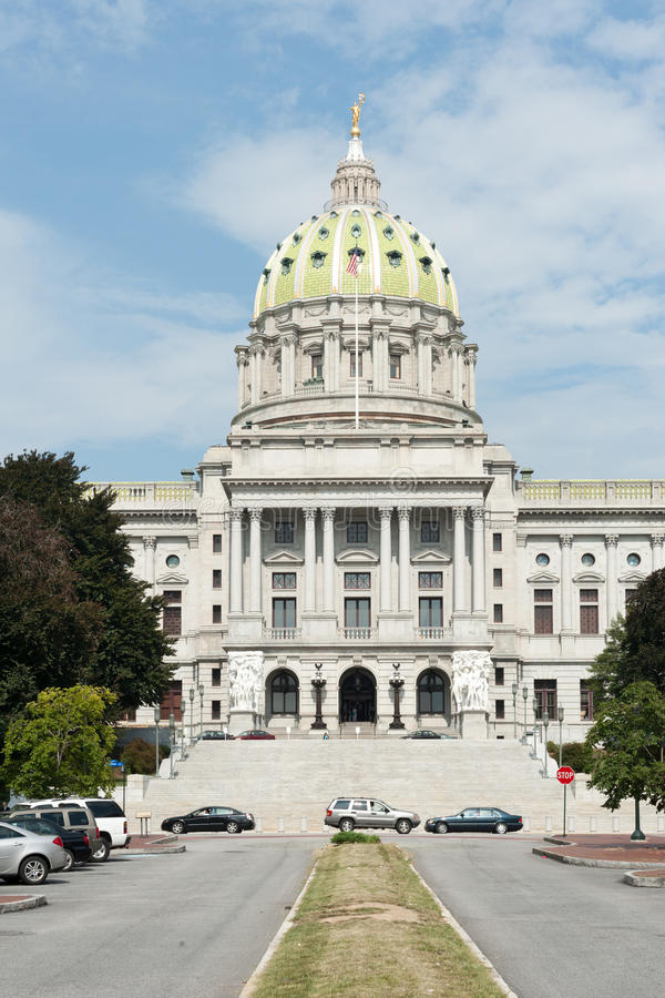 Capitólio do estado de Pensilvânia fotos de stock