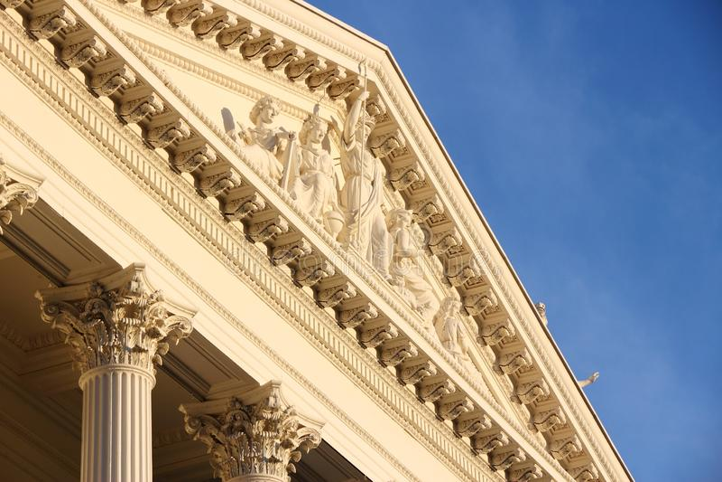 Capitólio do estado de Sacramento imagem de stock royalty free