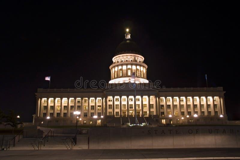 Capitólio do estado de Salt Lake City, Utá fotos de stock royalty free