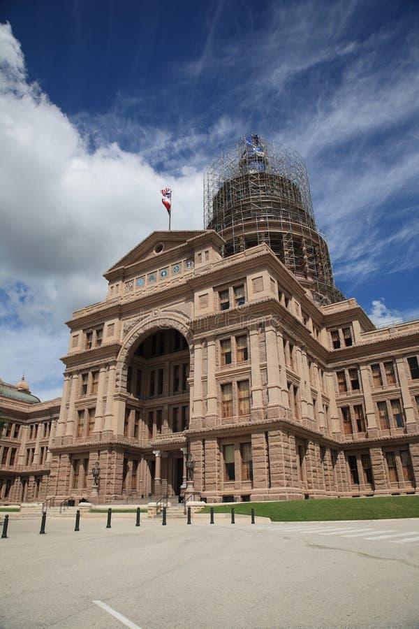 Capitólio do estado de Texas - Austin foto de stock