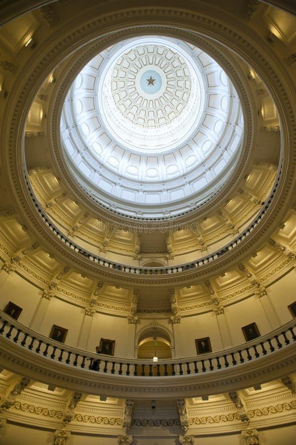Capitólio do estado de Texas em Austin foto de stock