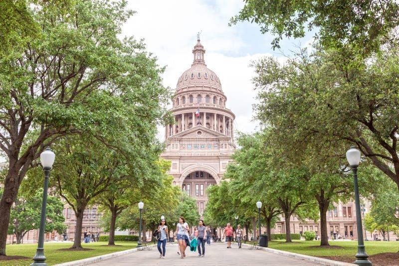 Capitólio do estado de Texas em Austin fotos de stock