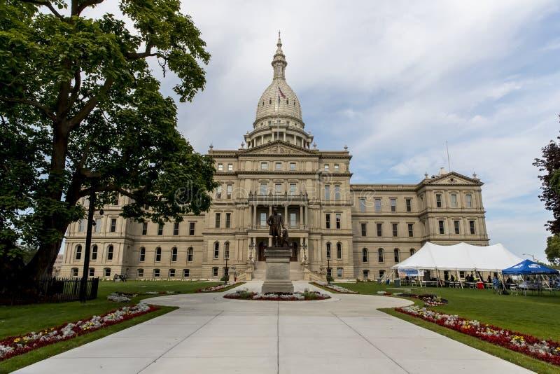 Capitólio do estado do Michigan fotos de stock