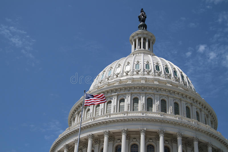Capitólio dos E.U. - construção do governo imagens de stock royalty free