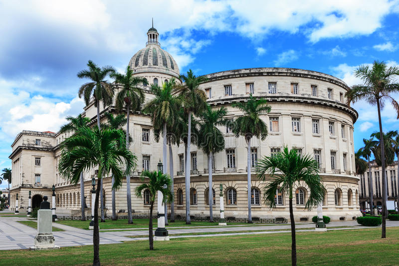 Capitólio em Havanna fotografia de stock royalty free