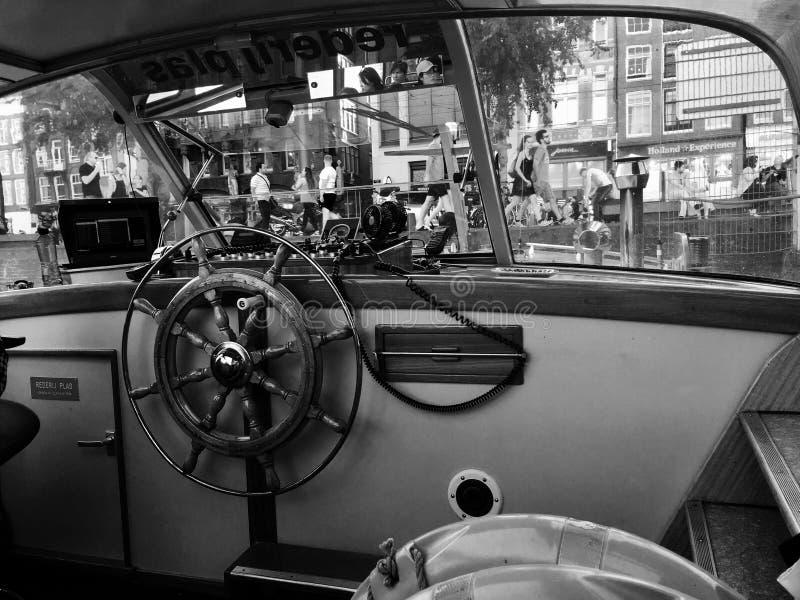 Capitaine Amsterdam photo libre de droits