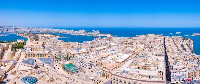 Capital antigo de Valletta Malta fotos de stock royalty free
