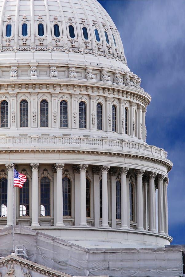 Capital Building. America's Capital Building in Washington D.C stock photo