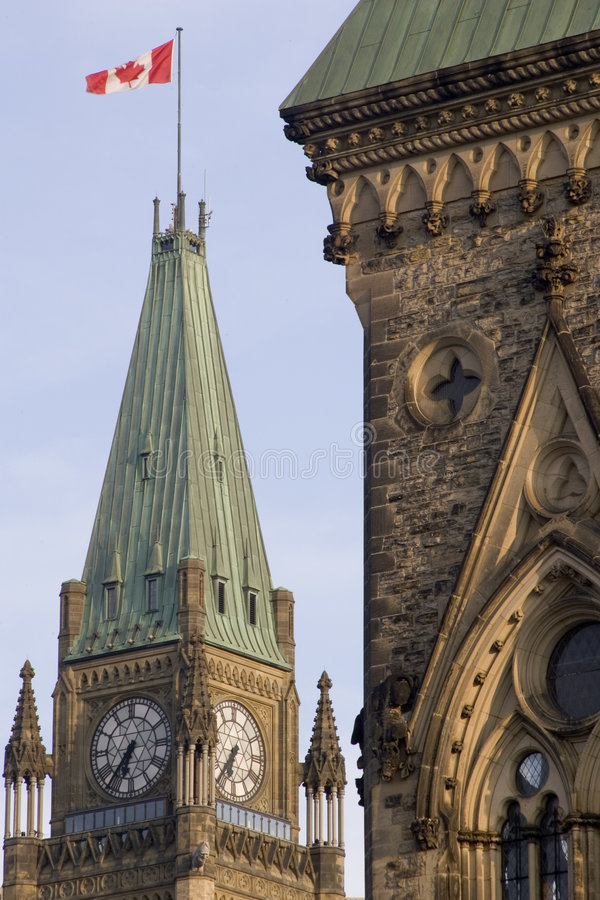 Capital canadense foto de stock