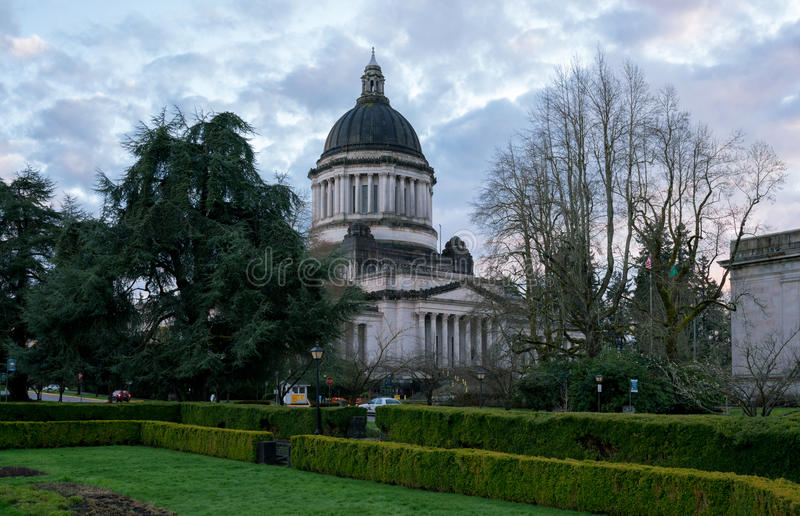 Capital chez Washington State images libres de droits