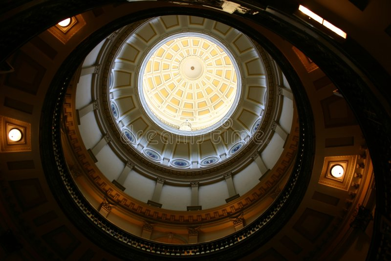 Capital Circles royalty free stock photo