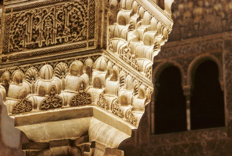 Capital de Alhambra imagen de archivo