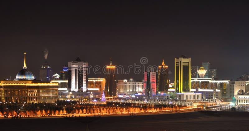 Capital de Astaná de Kazajistán  foto de archivo