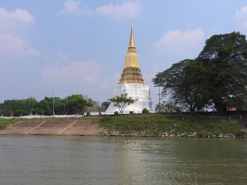 Capital de Ayutthaya do reino de Sião foto de stock royalty free
